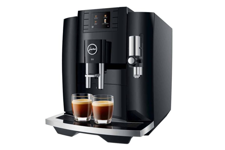 Jura E8 Piano Black (2021) - Automatic Espresso machine