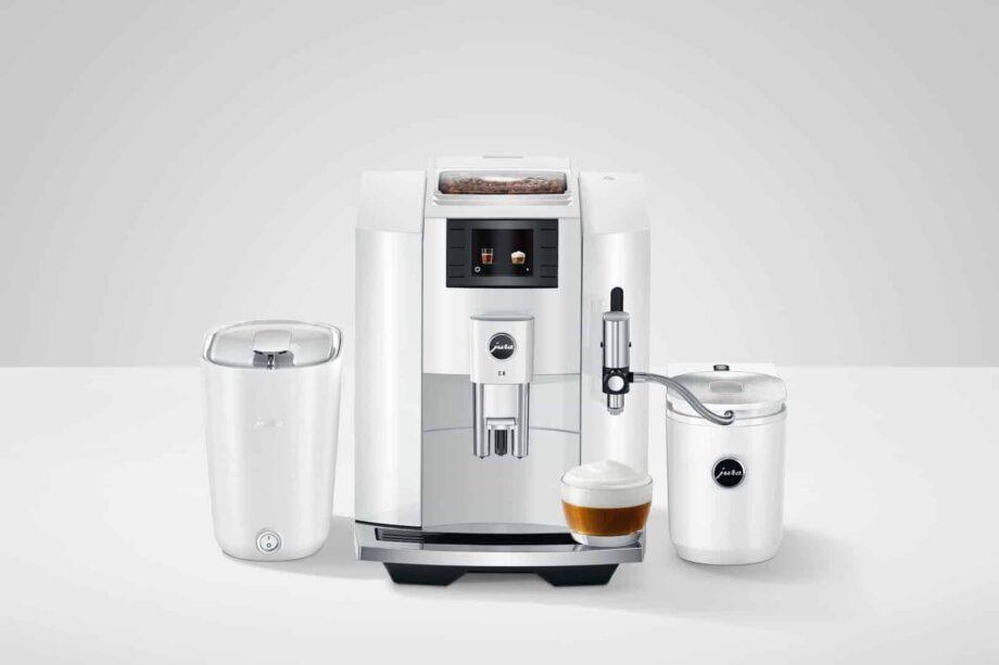 Jura E8 Piano White (2021) - Kaffeevollautomat