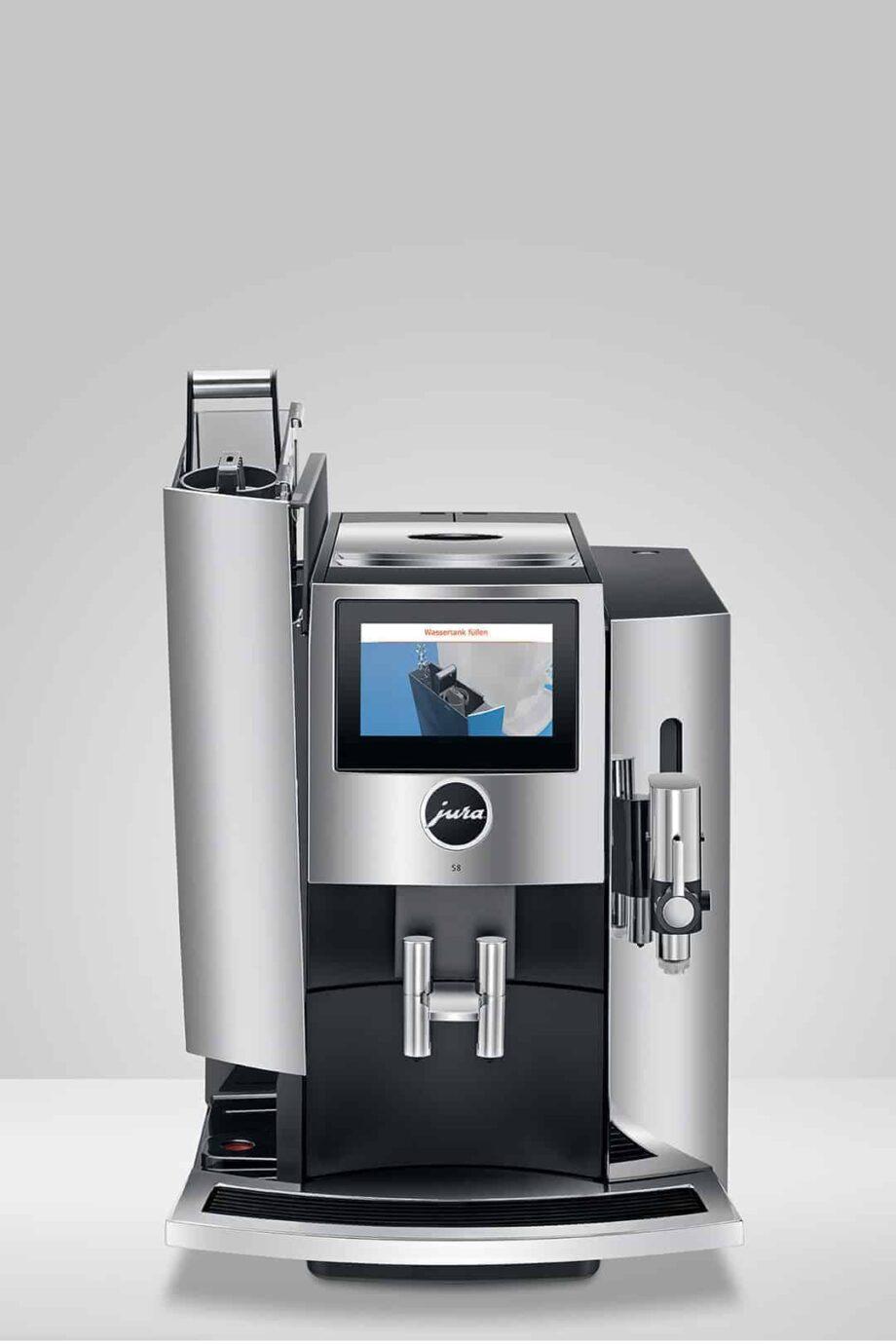Jura S8 Chrom (2021) - Automatic Espresso machine