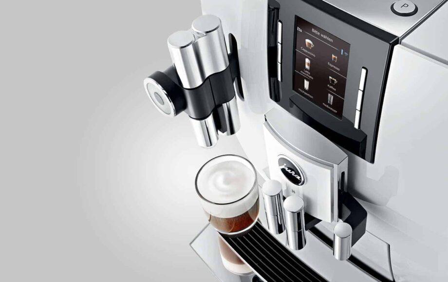 Jura J6 Piano White - Automatic Espresso machine