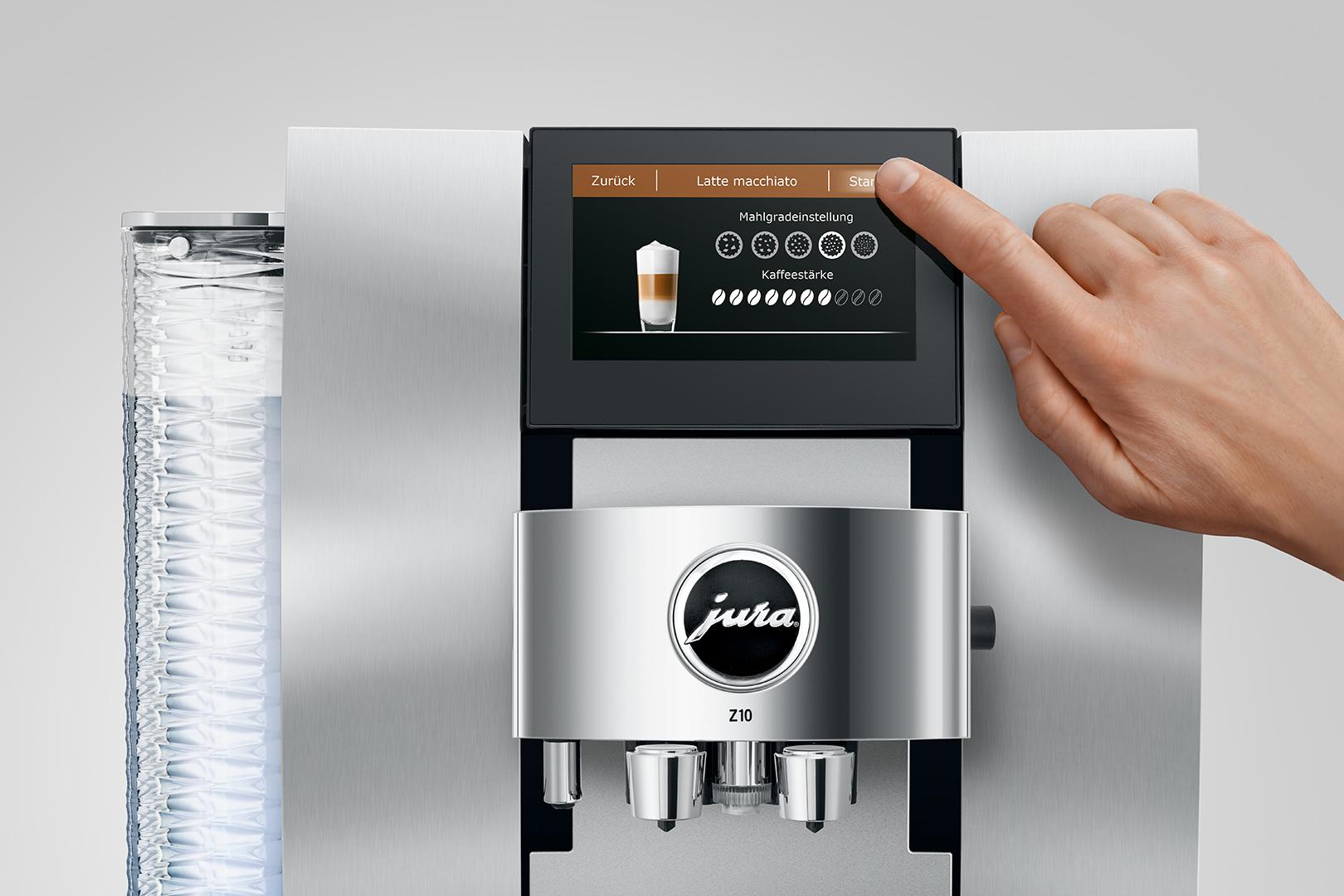 Jura Z10 Aluminium White – Αυτόματη μηχανή
