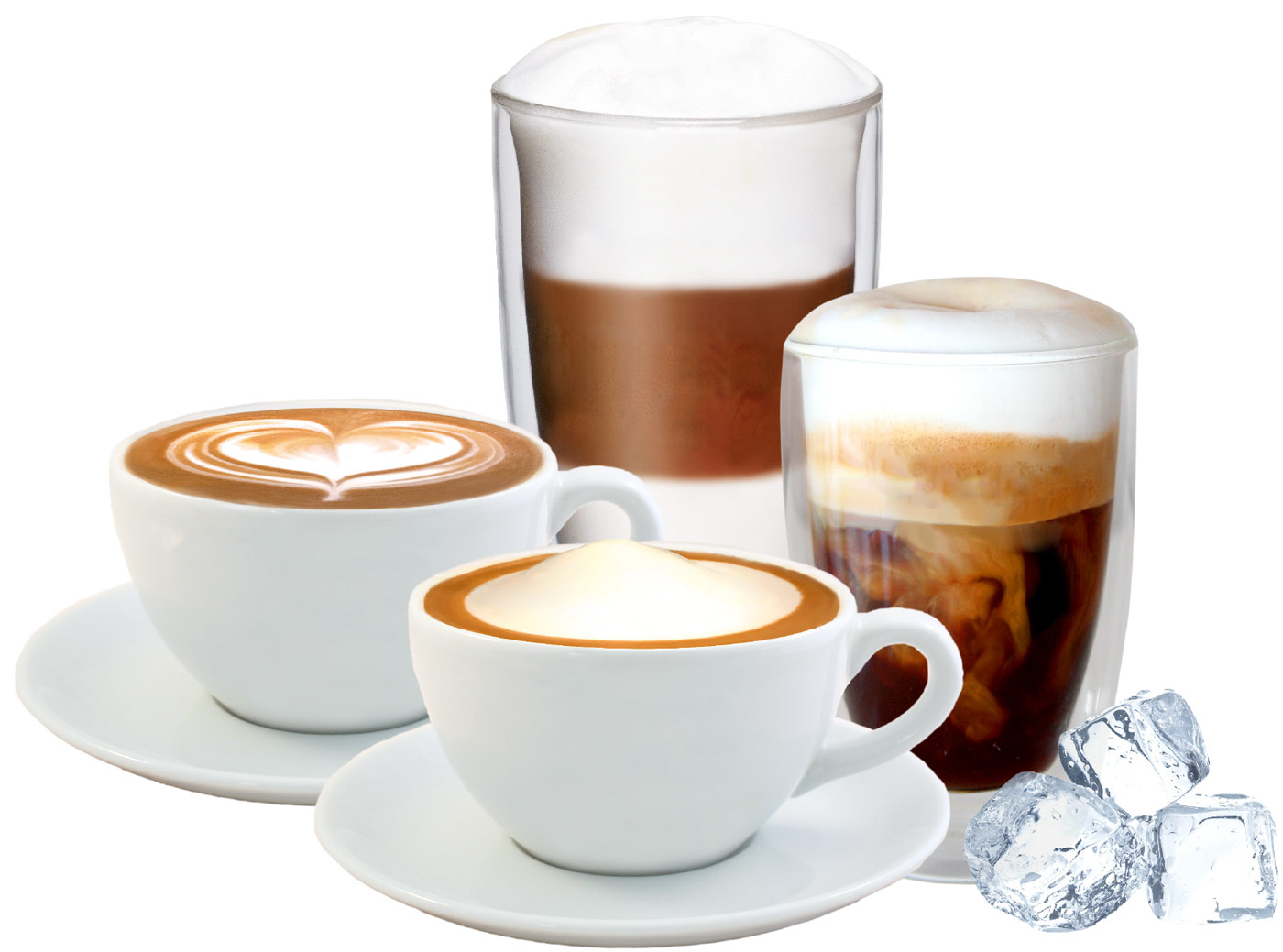 Miracle milk foam on demand hot and cold